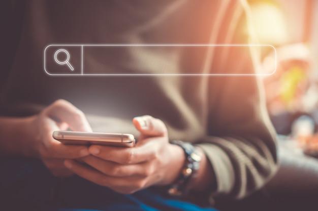 Consumidor buscando no google
