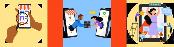 Jornada do consumidor digital: escolha do produto, conversão e fidelização.